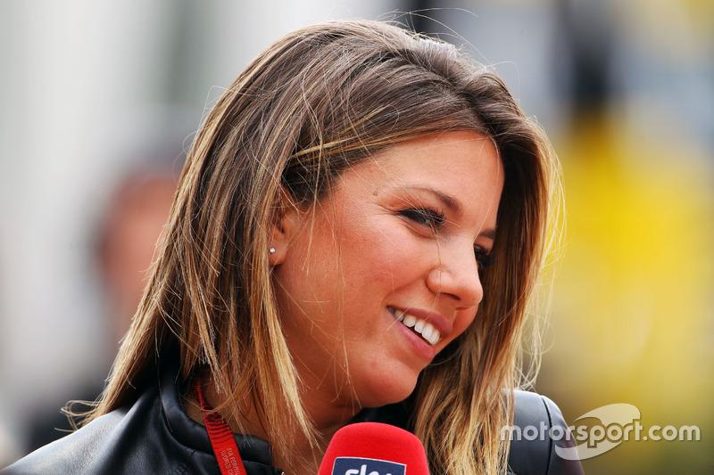 Federica Masolin, Sky F1 Italia, Moderatorin