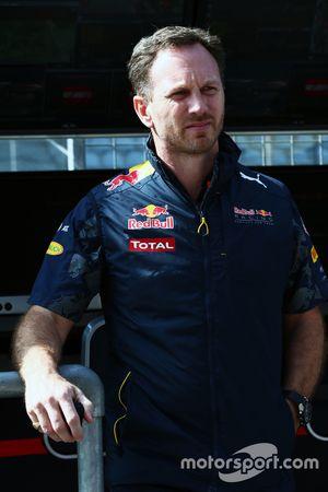 Christian Horner, jefe de equipo de carreras de Toro rojo