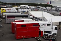 De ART Grand Prix race truck