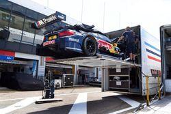 Das Auto von Marco Wittmann, BMW Team RMG, BMW M4 DTM