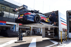 La voiture de Marco Wittmann, BMW Team RMG, BMW M4 DTM