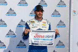 Ganador de la pole Jimmie Johnson, Hendrick Motorsports Chevrolet
