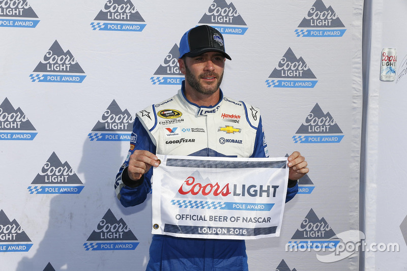 Loudon: Jimmie Johnson (Hendrick-Chevrolet)