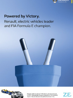 Renault FIA Formula E team title and driver title poster