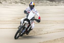 CS Santosh, Hero MotoSports Team Rally en la Playa Kutch Mandvi