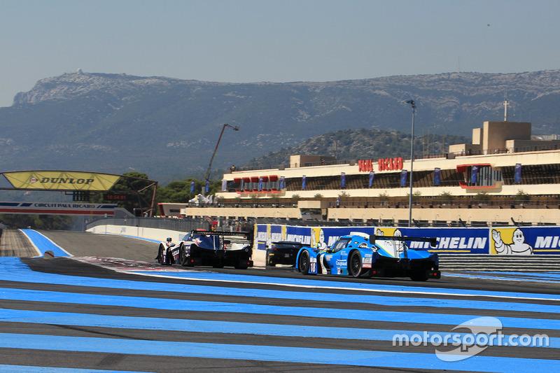 9. #18 M.Racing - YMR Ligier JSP3 - Nissan: Thomas Laurent, Yann Ehrlacher, Alexandre Cougnaud