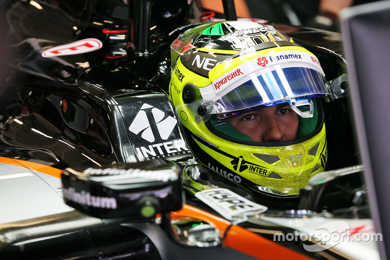 Russie 2016 - Sergio Pérez, Force India