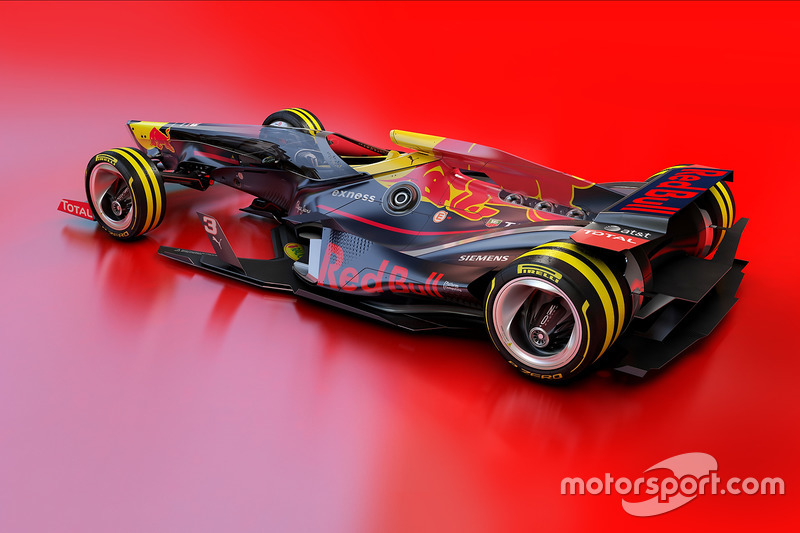 Red Bull Racing 2030 fantasy design