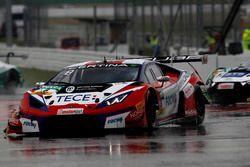 Crash, #6 HB Racing Lamborghini Huracán GT3: Elia Erhart, Kelvin Snoekstein