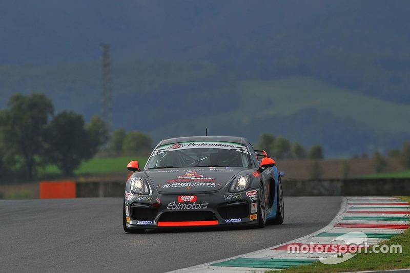 Porsche Cayman GT4 #252, Sabino Marco De Castro