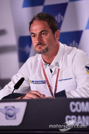 Piero Taramasso, Michelin Motorsport iki tekerlek başkanı