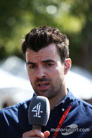 Steve Jones, Channel 4 F1 Moderator