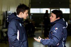 Louis Delétraz con Claudia Hürtgen, Schubert Motorsport