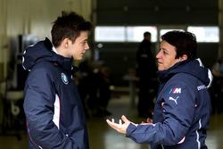 Louis Delétraz with Claudia Hürtgen, Schubert Motorsport