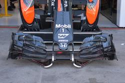 Détail de la McLaren