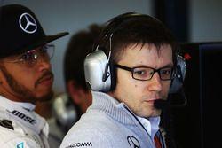 Peter Bonnington, Ingeniero de carrera de F1 de Mercedes AMG con Lewis Hamilton, Mercedes AMG F1 Team