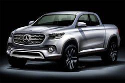 Rendu d'un pick-up Mercedes