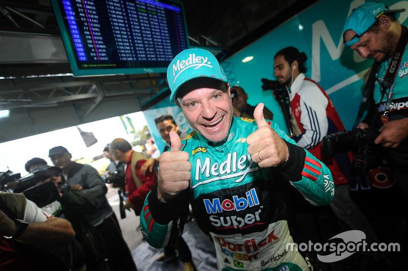 Rubens Barrichello pole em Tarumã