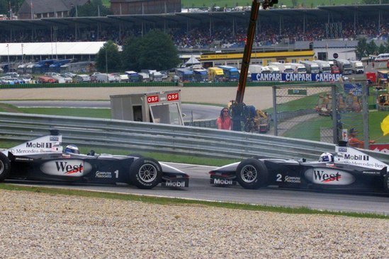 1999 Avusturya GP, Mika Hakkinen vs David Coulthard, McLaren
