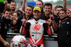 Le vainqueur Takaaki Nakagami, Honda Team Asia