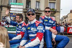 Nicolas Minassian, Maurizio Mediani, Mikhail Aleshin