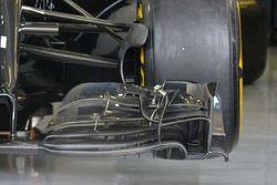 Detalle del ala delantera del McLaren MP4-31