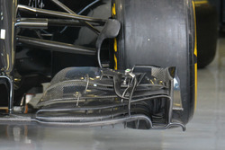 McLaren MP4-31, Frontflügel-Detail