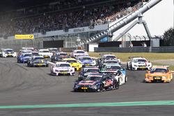 Inicio de la carrera, Marco Wittmann, BMW Team RMG, BMW M4 DTM líder