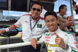 Ganador de la pole Kazuki Nakajima, Team Tom's