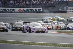 Start, Lucas Auer, Mercedes-AMG Team Mücke, Mercedes-AMG C63 DTM, führt