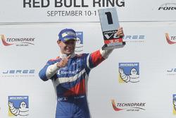 Podium: ganador, Matthieu Vaxivière, SMP Racing