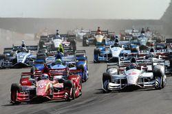 Start: Scott Dixon, Chip Ganassi Racing, Chevrolet, führt
