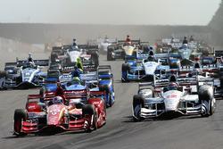 Inicio: Scott Dixon, Chip Ganassi Racing Chevrolet
