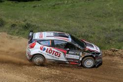 Kajetan Kajetanowicz e Jarek Baran, Ford Fiesta R5