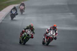 Michael van der Mark, Honda WSBK Team, Tom Sykes, Kawasaki Racing