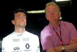 Jolyon Palmer, Renault Sport F1 Team et son père Jonathan Palmer