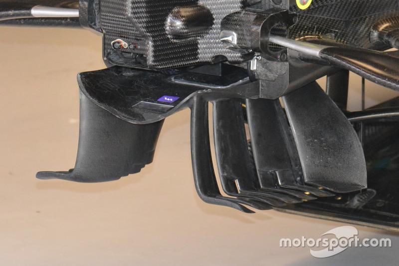 Деталь машины Mercedes AMG F1 W07