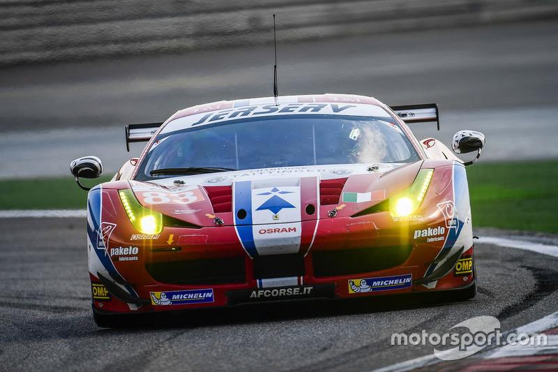 3. LMGTE-Am: #83 AF Corse, Ferrari 458 Italia