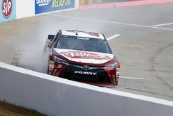 David Ragan, BK Racing Toyota in de problemen