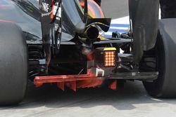 McLaren MP4-31 diffuser detail
