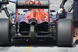 Detalle del difusor de Scuderia Toro Rosso STR11