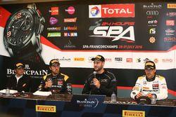 Post-qualifying Press Conference: Polesitter #58 Garage 59, McLaren 650 S GT3: Shane Van Gisbergen;