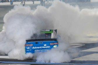 Kyle Larson, Chip Ganassi Racing, Chevrolet Camaro Advent Health