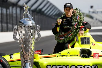 Winnaar Simon Pagenaud, Team Penske Chevrolet