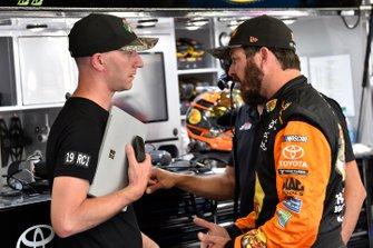 Martin Truex Jr., Joe Gibbs Racing, mit Cole Pearn