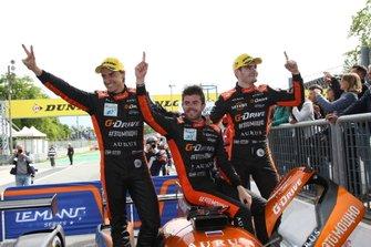 Ganador #26 G-Drive Racing Aurus 01 Gibson: Roman Rusinov, Job Van Uitert, Norman Nato
