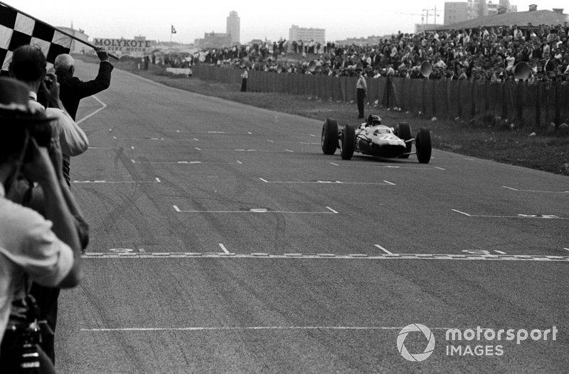 El ganador del GP de Holanda 1964: Jim Clark, Lotus 25