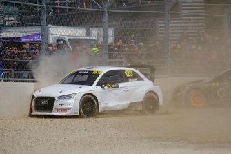 Авария: Кристиан Жабо, EKS Sport, Audi S1