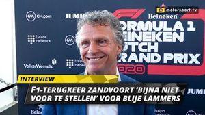 Jan Lammers bij persconferentie Dutch GP