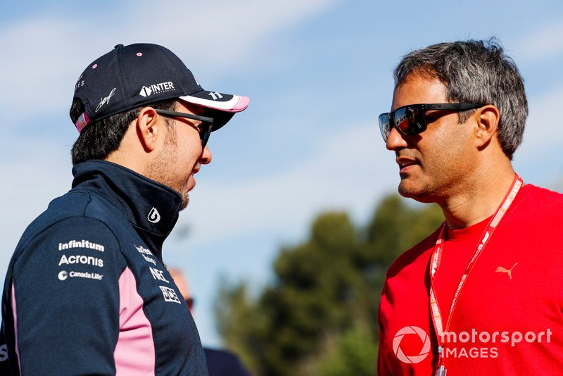 Sergio Pérez, Racing Point con Juan Pablo Montoya